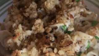 Today's Recipe:  Tuna Noodle Casserole