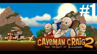 Играем в Caveman Craig 2 с mad mЁd. - 1. Начало эволюции!) (CONQUEST 1)