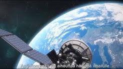 Tiedot avaruussäästä parantavat ilmailun turvallisuutta