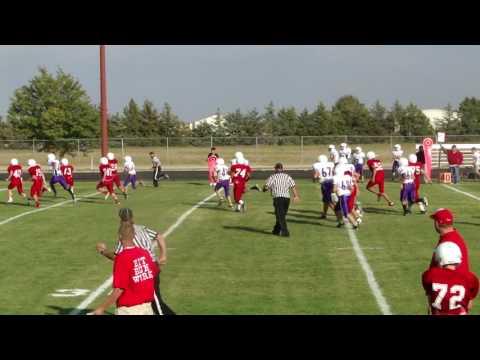 Sam TD against Yuma 8th grade