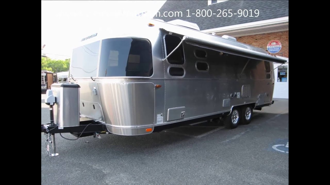 Perfect 2017 Airstream Flying Cloud 26A Twin 26U Bed Travel Trailer For Sale - YouTube