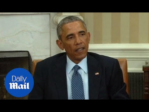 Obama vows to help rid Mexico of scourge of drug cartels - Daily Mail