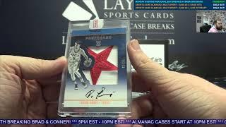 The Sports Card Almanac: High End Multi Sport Volume One  – 3 Box Case Break #23