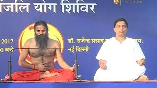 Patanjali Yog Shivir: Swami Ramdev   Rashtrapati Bhavan, Delhi   18 Feb 2017 (Part 2)