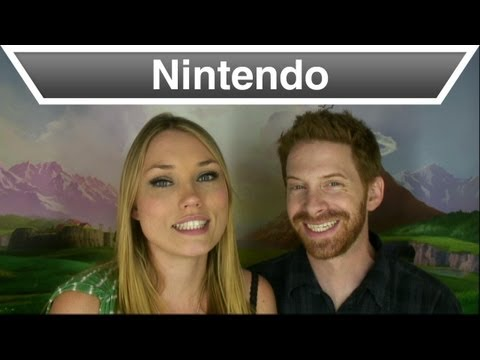 The Legend of Zelda 25th Anniversary Celebration - Clare Grant and Seth Green