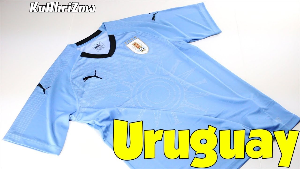 d21469765 World Cup 2018 Puma Home Uruguay Soccer Jersey Unboxing + Review ...