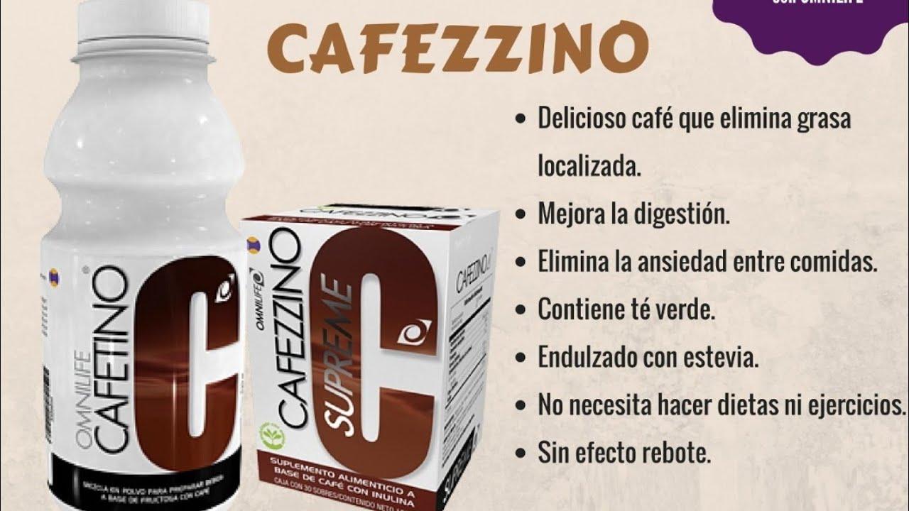 Cafezzino omnilife para bajar de peso