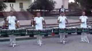 2007 Phantom Regiment drumline parking lot