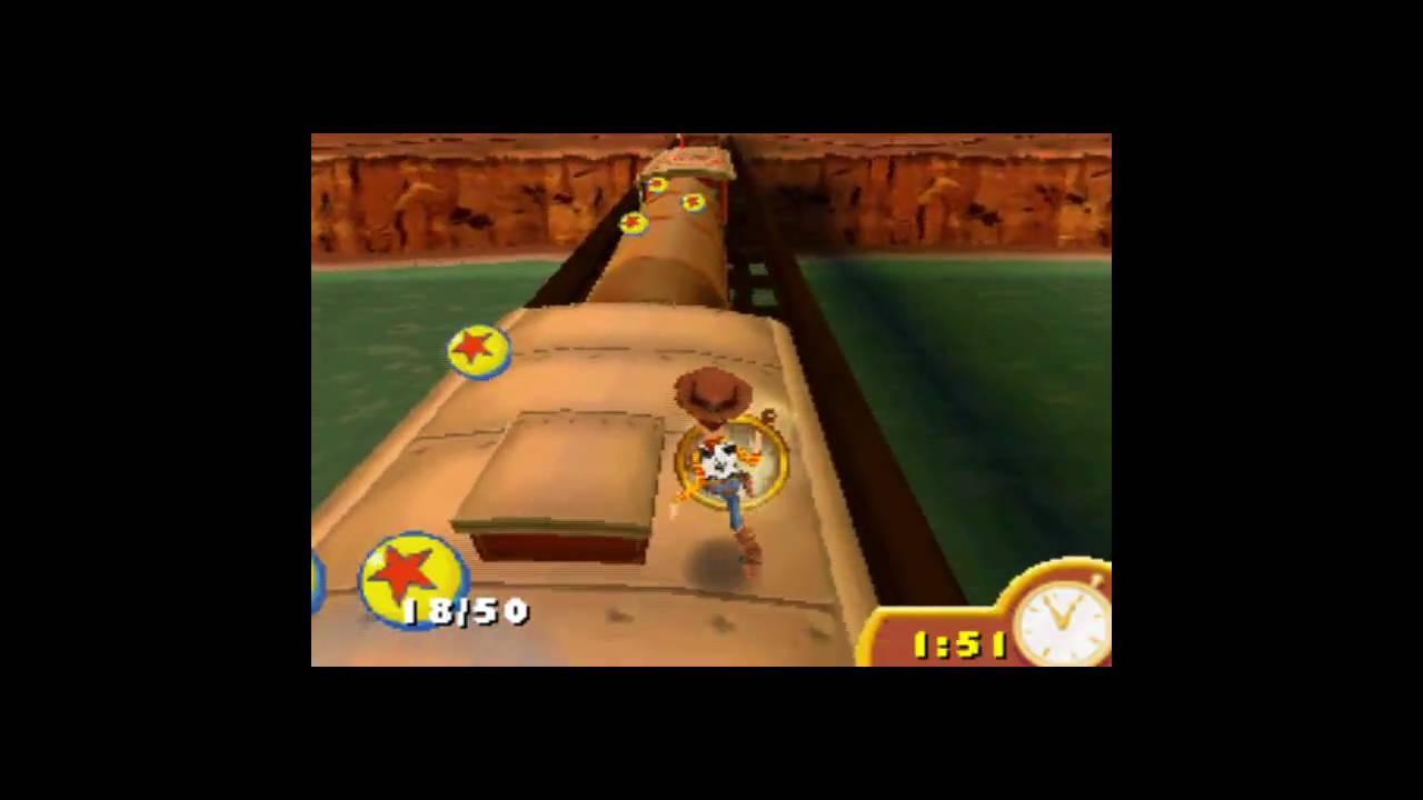 Toy Story 3 The Game Ds Gameplay Youtube