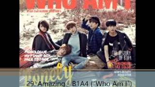Top 75 Kpop Non Title Tracks of 2014