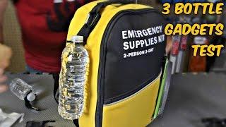 3 Water Bottle Gadgets Test