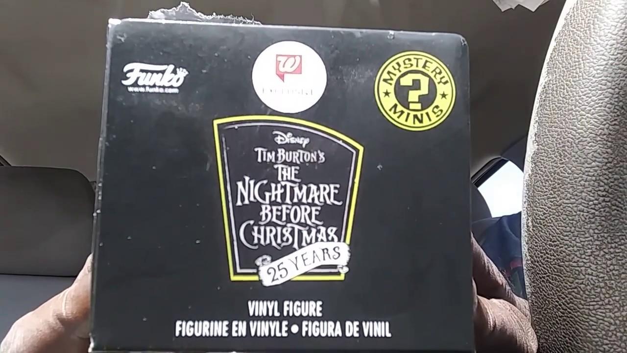 Nightmare Before Christmas Funko Mystery Mini Blind Pulls Walgreens ...