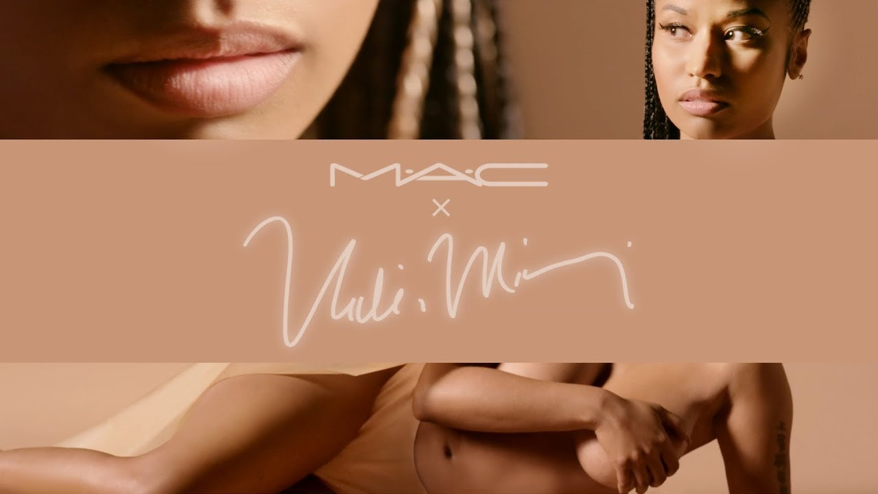 E1 B4 B4 E1 B4 B0 M E2 88 99a E2 88 99c Cosmetics Present Nicki Minaj Nude Collection