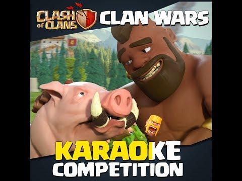 Clash of Clans | Clan Wars Karaoke Contest