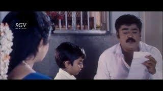 Jaggesh Comedy Scenes - Jaggesh Trying to Save Money | Dudde Doddappa Movie | Kannada Comedy Videos