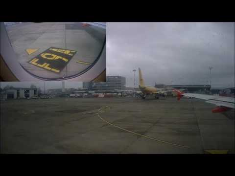 Taxiing & Takeoff Euroairport Basel- Mulhouse !!