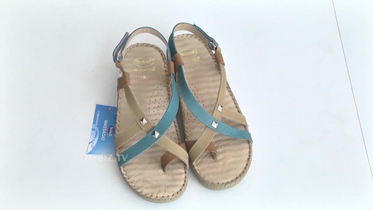 Scholl Massagio Ladies Sandals At Bata