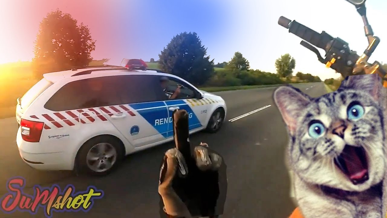 TOP 10 Motorcycle police chases 2018