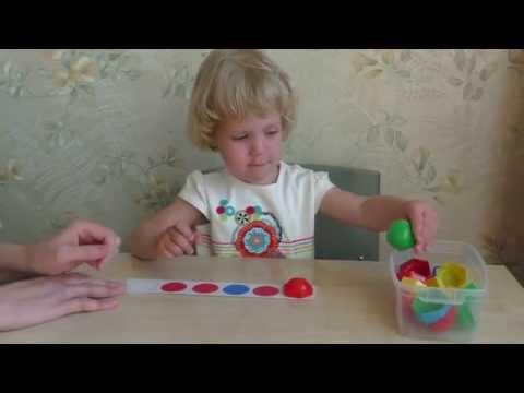 Развивающие занятия для детей 2 – 3 лет по Монтессори дома. Учим цвета с малышом.