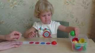 Развивающие занятия для детей 2 – 3 лет. Игры с ребенком дома.