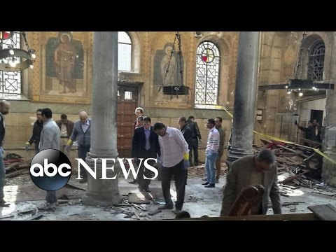 Terror Attack Targets Women and Children at Main Christian Cathedral in Cairo