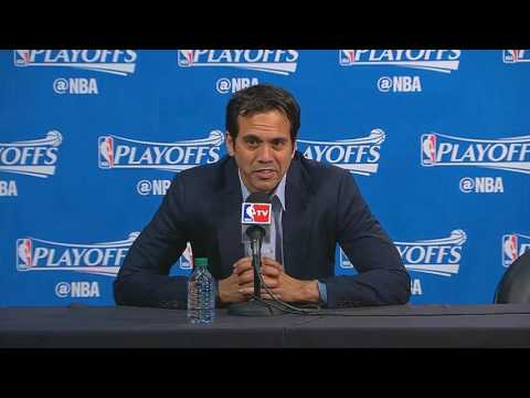 Erik Spoelstra -- Miami Heat at Toronto Raptors Game 7 05/15/2016