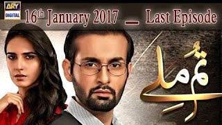 Tum Milay - Last Episode - 16th January 2017 - ARY Digital Drama