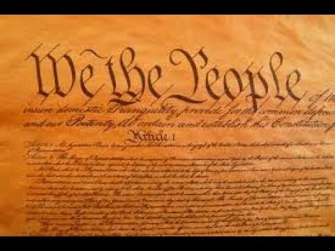 THE UNITED STATES CONSTITUTION!