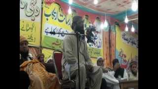 Maulana Qari Hanif Rabbani Markaz Ahlehadith.KHANPUR 25 March 2012 Part 1