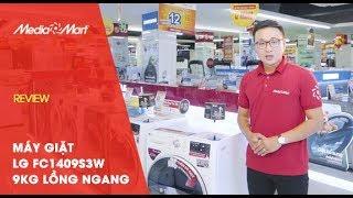 Giặt giũ sạch sẽ và được nhiều hơn với Máy giặt 9kg LG FC1409S3W lồng ngang