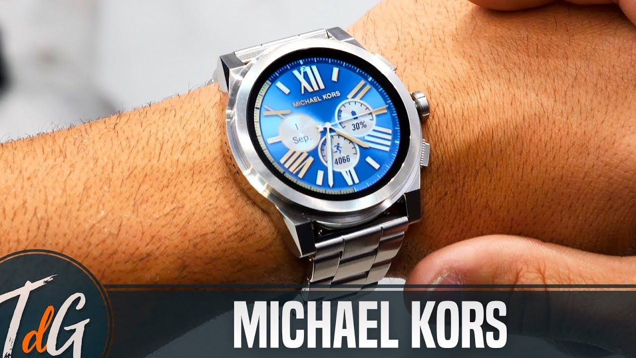 Smartwatches De Michael Kors Con Android Wear Ifa17 Youtube