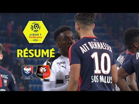 SM Caen - Stade Rennais FC (2-2)  - Résumé - (SMC - SRFC) / 2017-18