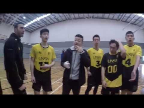 Australian Uni Games 2016 Perth UNSW Volleyball