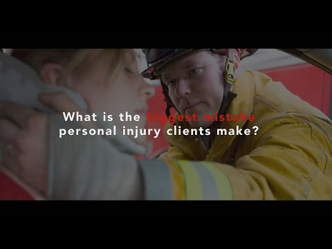 What are the biggest mistakes personal injury clients make? - Gainesville (FL) Attorney
