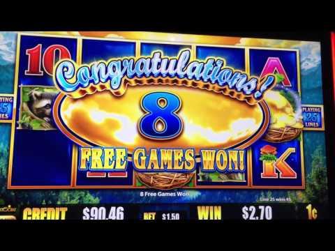 Live play New slot, Eagle extra wild bonus- Slot Machine Bonus, aristocrat,