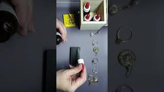 пробирный камень. Как проверять драгоценные металлы и что для этого нужно.(3)