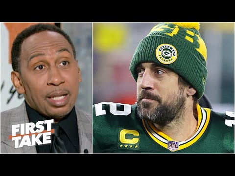 This is personal for Aaron Rodgers, not business - Stephen A. on the Packers drama | First Take