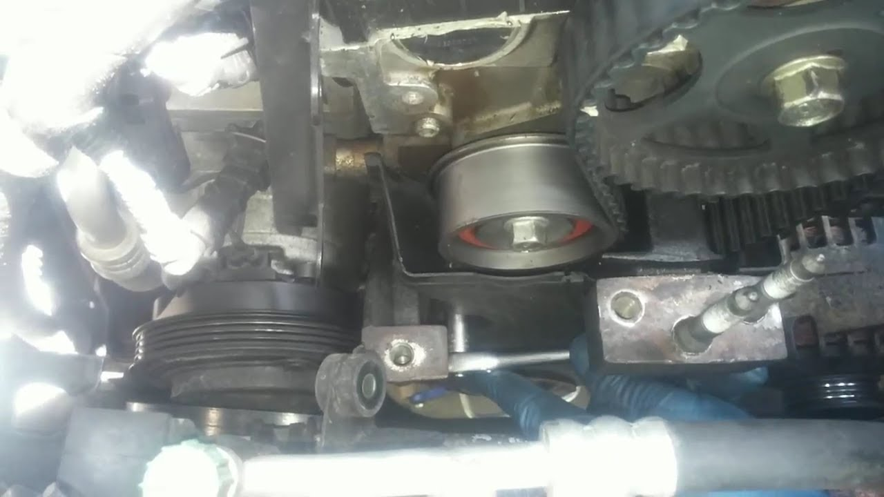 medium resolution of how to replace the timing belt on the hyundai elantra or kia spectra diy with video axleaddict