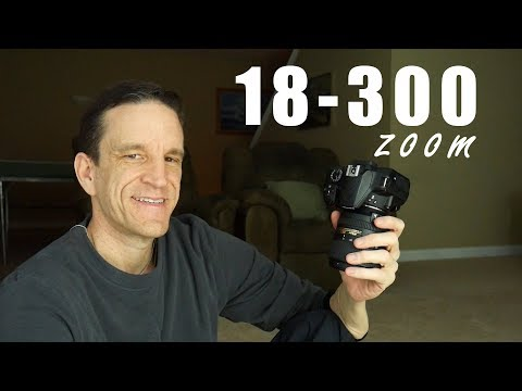 Nikon 18-300 Lens - Field Test and Review (demo w/ Nikon D3400)