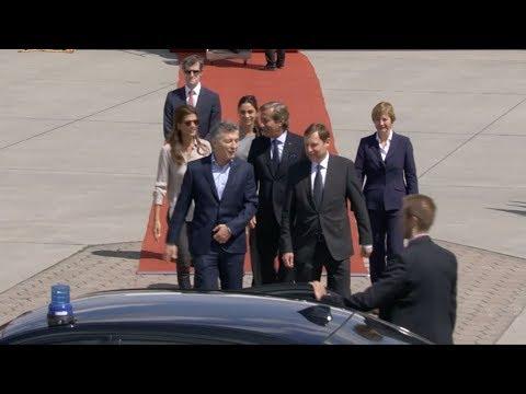 Macri ya está en Hamburgo para participar del G20