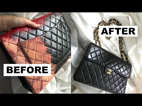 Chanel Classic Flap Bag Restoration