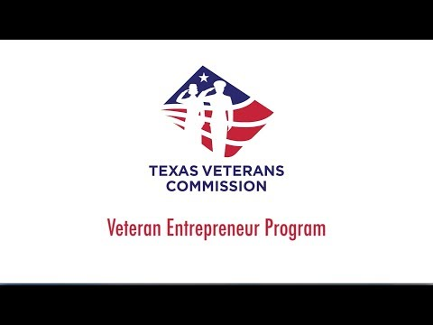 Entrepreneurs - Texas Veterans Commission