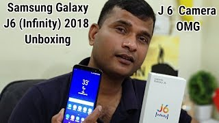 Samsung Galaxy J6 (Infinity) 2018 Unboxing & Short Camera Test | Hindi