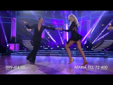 Maria Montazami - jive - Let's Dance (TV4)
