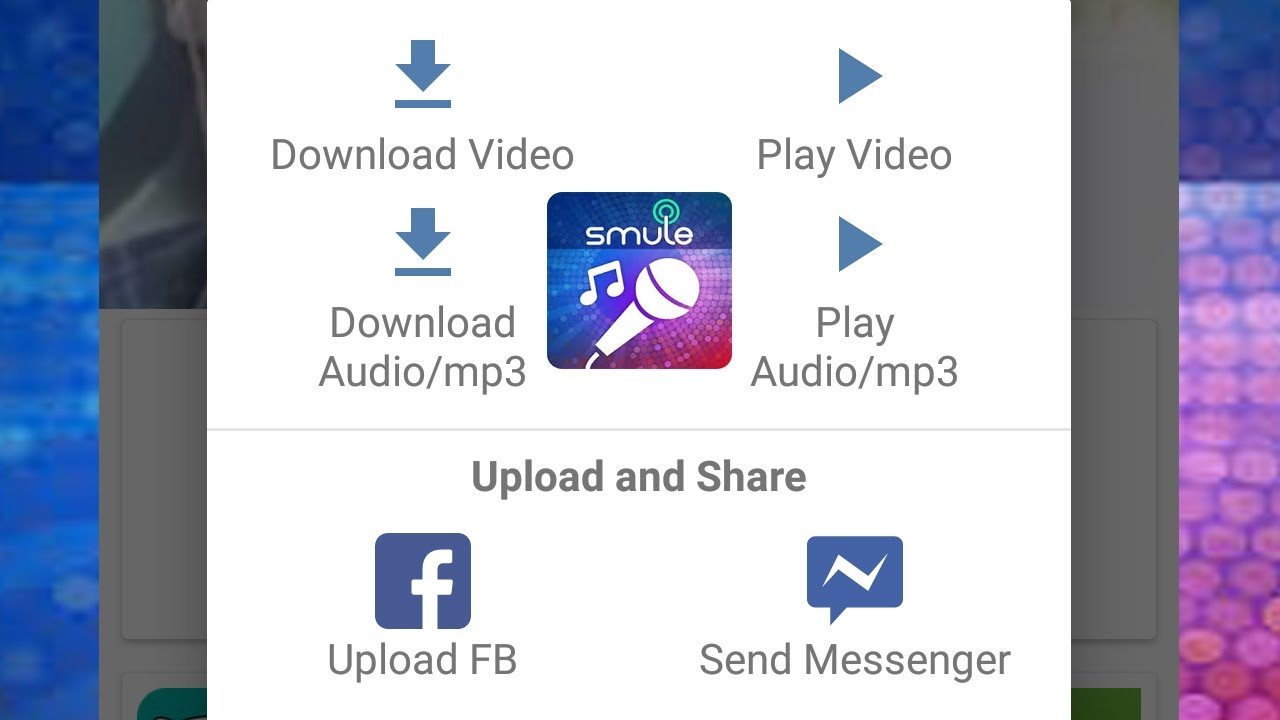 Cara Baru Download Video Smule Dan Audio Mp3 Smule Sing Karaoke