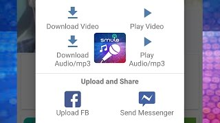 cara baru download video smule dan audio mp3 smule sing karaoke
