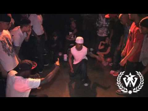 The Warm Up - Krump Battle -  Rychus VS Sabotage