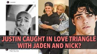Justin Bieber Caught In Love Triangle With Jaden Smith And Nick Centineo