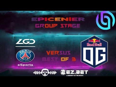 PSG.LGD Vs OG Game 1   Lower Bracket   Main Stage   Best Of 3