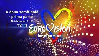 Semifinala Eurovision Romania 2019 de la Arad - prima parte LIVE
